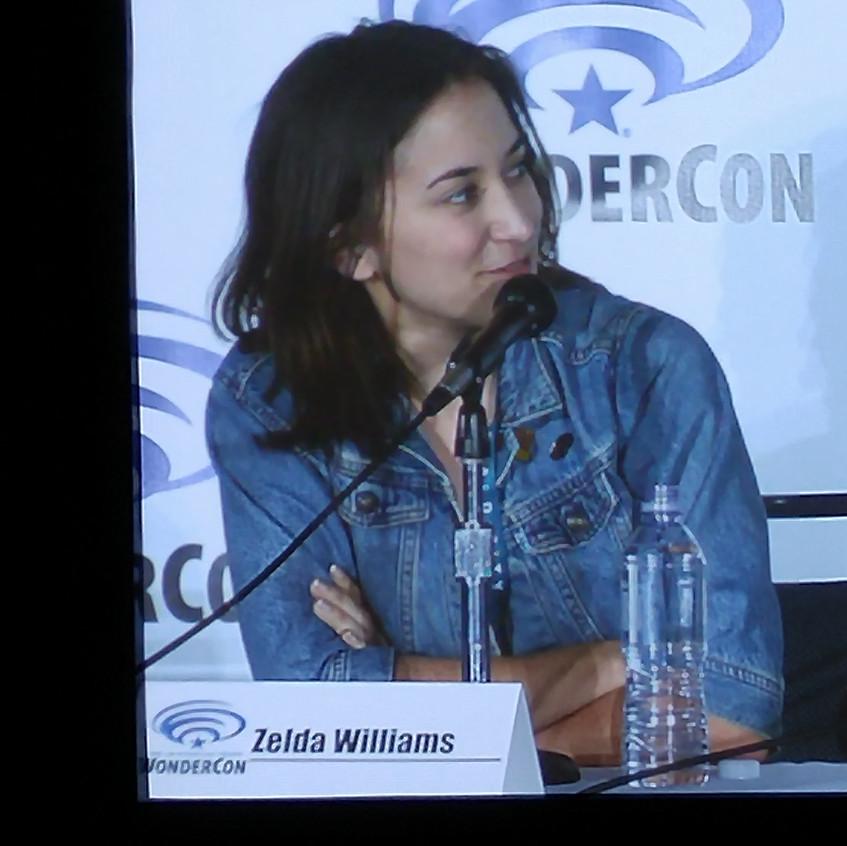 Zelda Williams, TMNT Panel