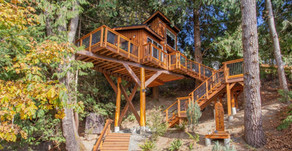 8 Spectacular Treehouses You Can Stay In from the Blue Ridge Mountains to the beaches of Costa Rica