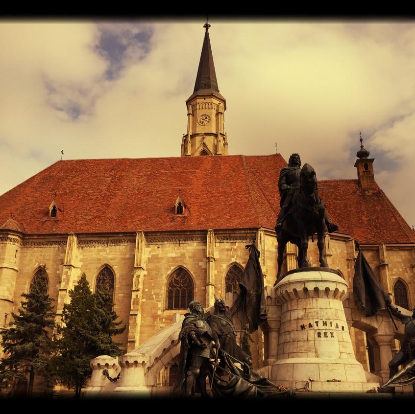 Matthias Corvinus Monument, Cluj