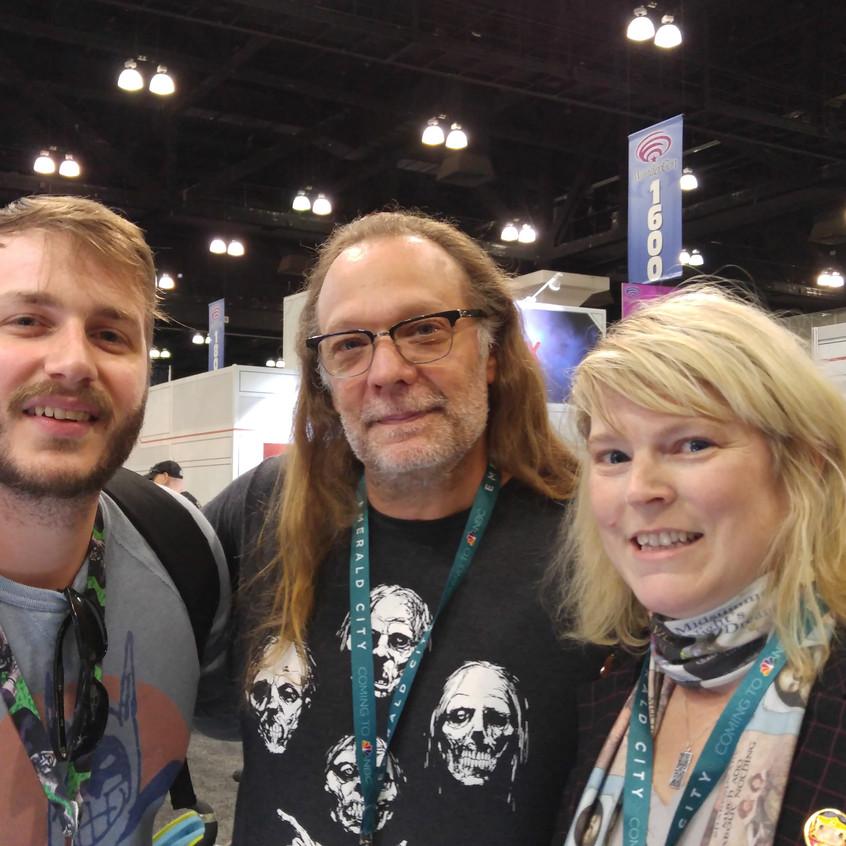 The Co-Hosts with Greg Nicotero