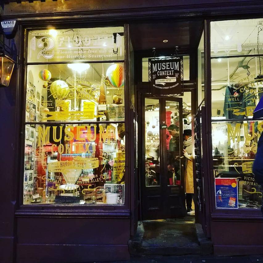 Museum Context, Victoria Street Edinburgh