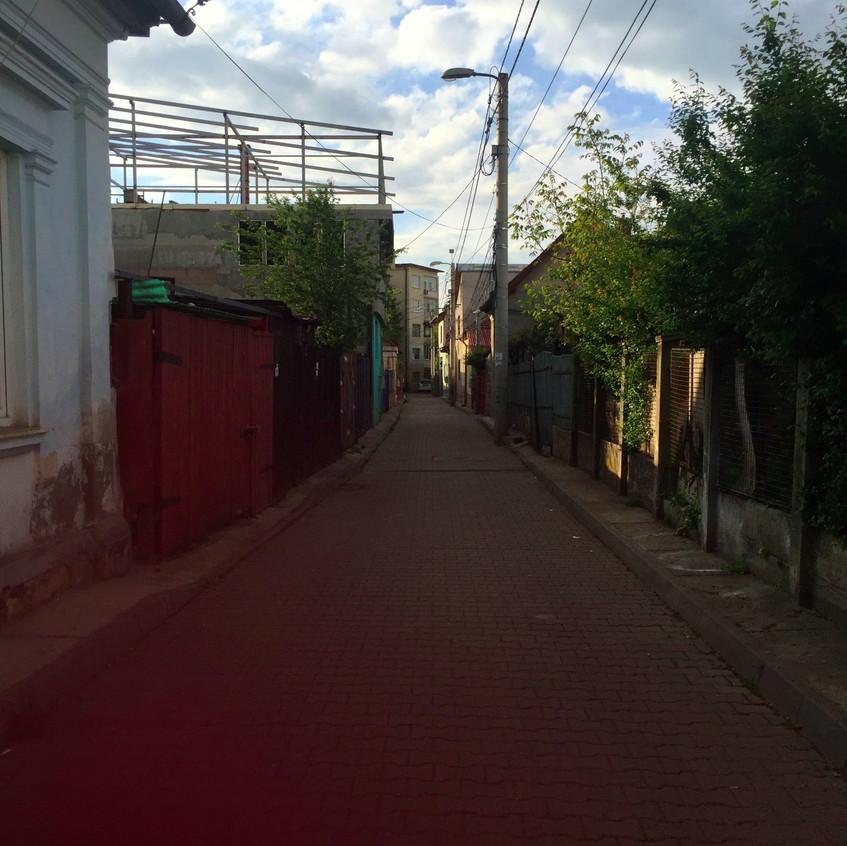Streets of Cluj, Romania