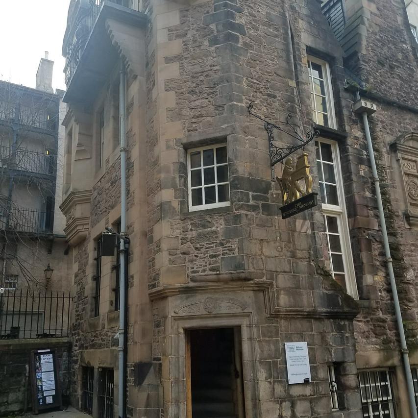 The Writer's Museum, Edinburgh