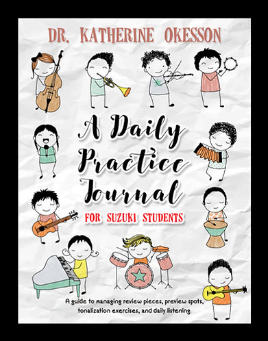 A Daily Practice Journal for Suzuki Students