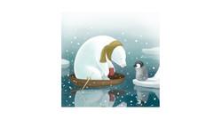 Polar Bear and Penguin