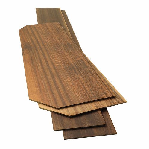Classic Aged Eucalyptus Back and Sides for Acoustic Guitar