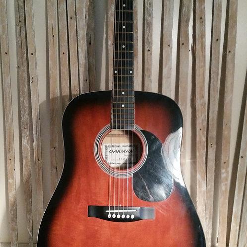 Oakman Acoustic Guitar. USED