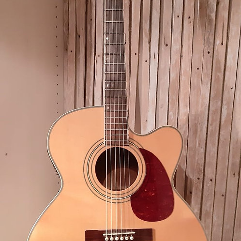 Tanglewood SJ5CE Semi Acoustic Guitar with Case. USED
