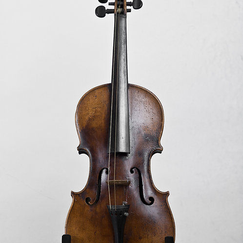 Handmade 19th century violin attributed to Davide Lotteri