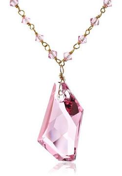 Rose Crystal Pendant