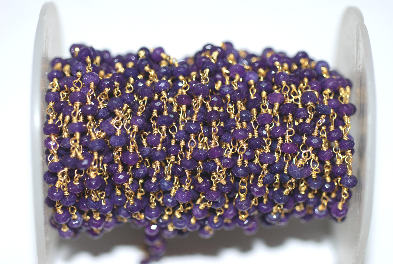 Amethyst Rosary Chain