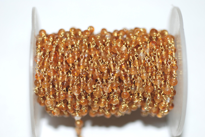 Citrine Rosary Chain