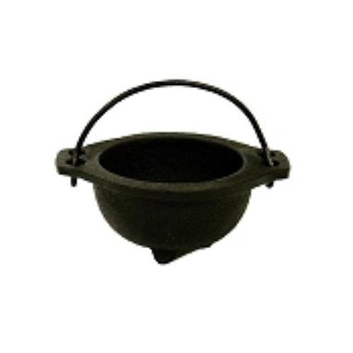 """2.5"""" Iron Smudging Pot"""