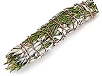 White Sage/Juniper Smudge Stick 4'