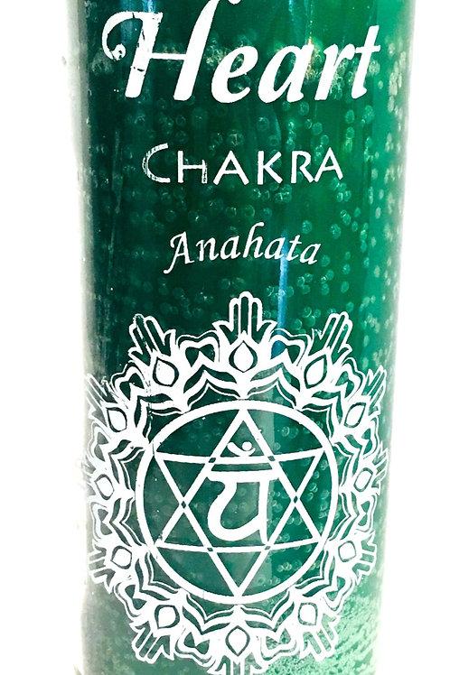 Heart Chakra 7 Day Candle