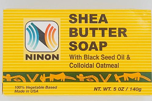 Shea Butter Soap w/ Black Seed Oil & Oatmeal
