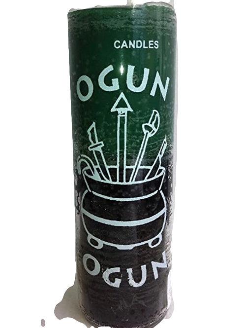 Orisha 7 Day Candle: Ogun