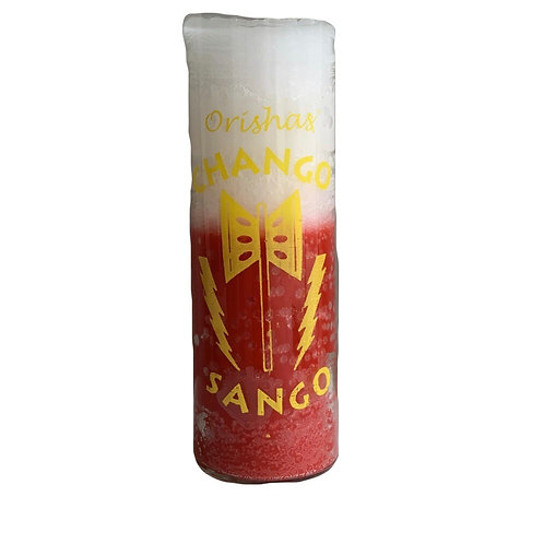 Orisha 7 Day Candle: Chango / Sango Candle