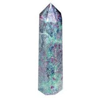 Fuschite Obelisk