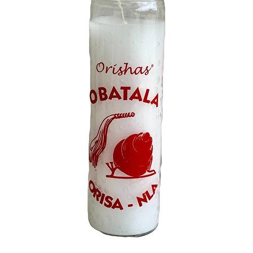 Orisha 7 Day Candle: Obatala