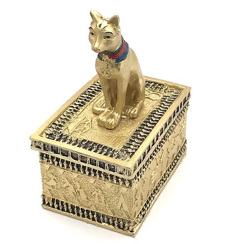 Gold Egyptian Ritual Box