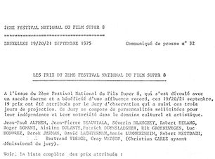 FUM4 - 2 Festival national du film super
