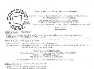 FUM5 - Cercle bruxellois de cinéastes am