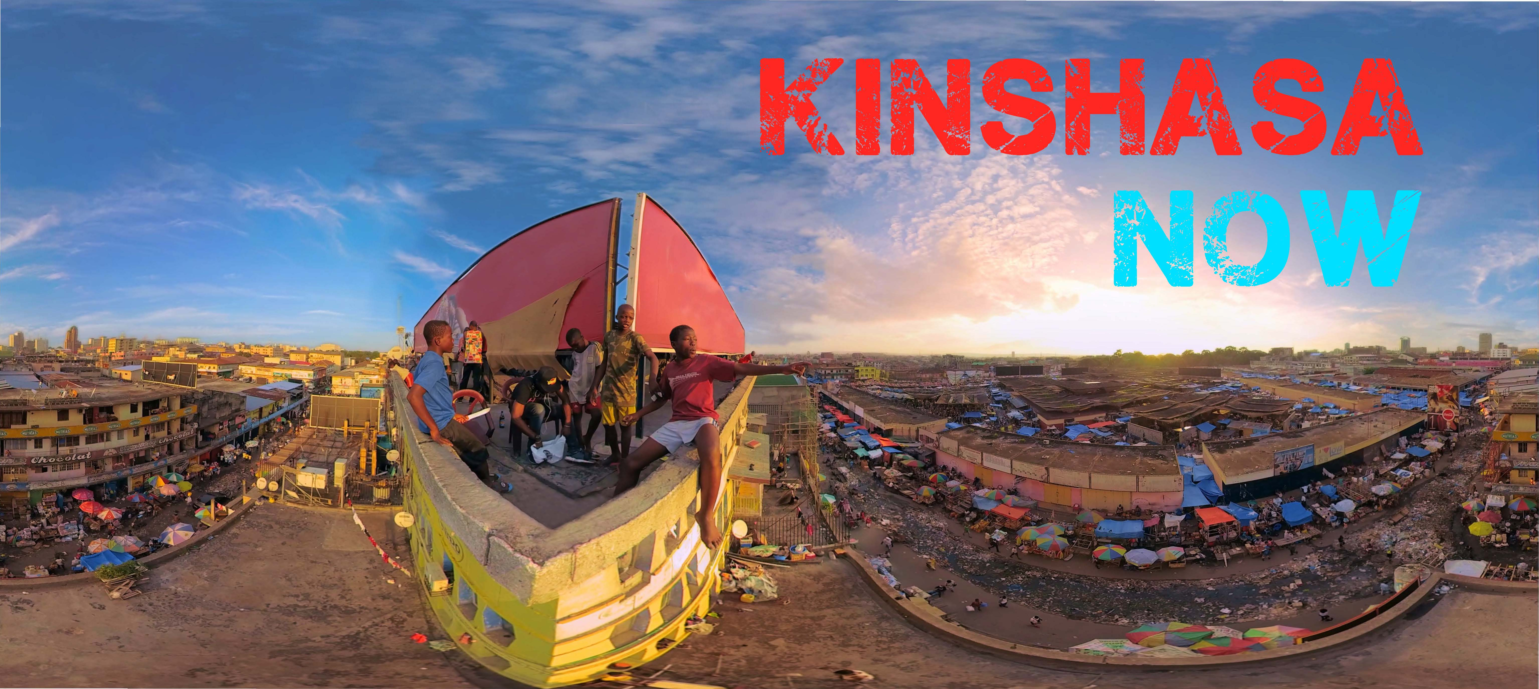 Bannière Kinshasa Now