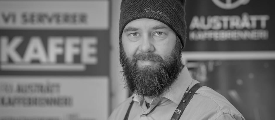 Bli kjent med Tor Sigve fra Austrått Kaffebrenneri
