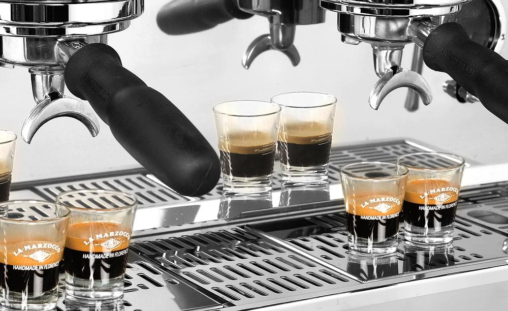 Auto brew ratio La Marzocco espressomaskin
