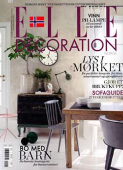 Elle Decoration Norway, October 2013