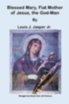 Virgin Mary front cover and back cover p