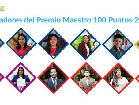 """RECONOCIMIENTO A LOS MAESTROS 100 PUNTOS 2020  """"HEROES A DISTANCIA"""""""