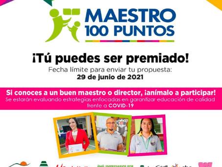 Premio Maestro 100 Puntos 2021 - XVI edición