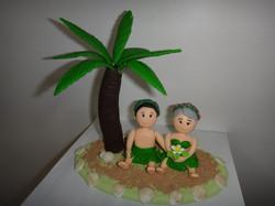 Noivinhos Havaianos