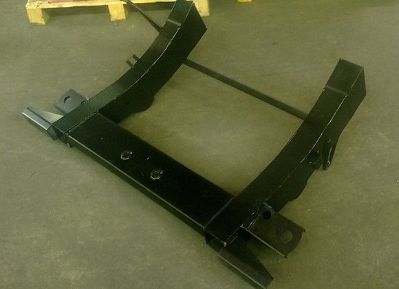 LRD211 TD5 rear chassis assembly 3mm 720mm legs
