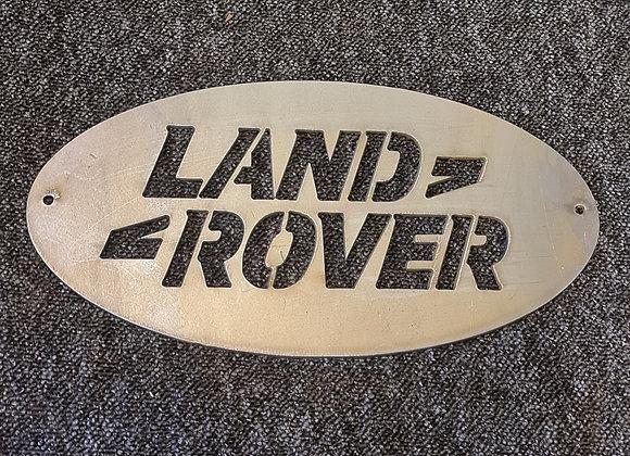 Land Rover Metal Sign