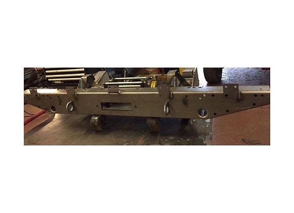 LRB8101 Defender 90 Rear Crossmember with winch tray