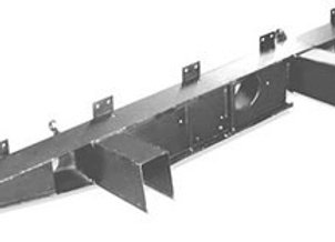 LR27 Land Rover Series 2/2a/3 rear crossmember with extensions
