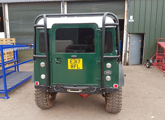 Defender 90 Van DIY Wrap around back