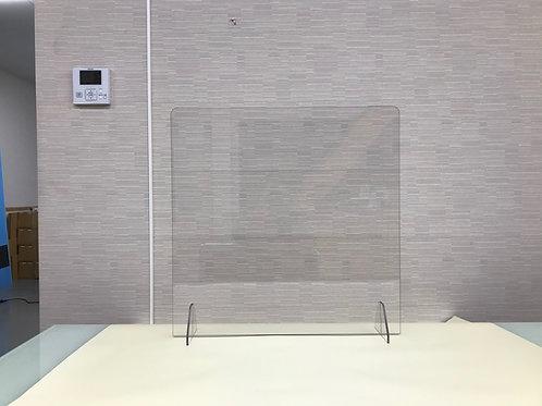 飛沫感染対策パーテーション W400×H400【窓なしタイプ】