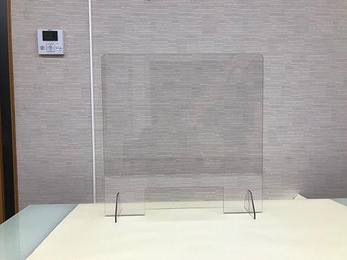 飛沫感染対策パーテーション W400×H400【窓ありタイプ】