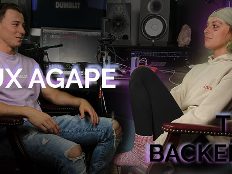 (AUDIO) Lux Agape Goes DEEP on Music, The Universe, Religion, Her Past, + More! | The Backend #4