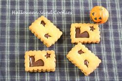 ハロウィンサンドクッキー