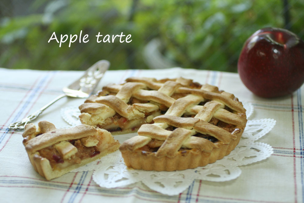 りんごのタルト風