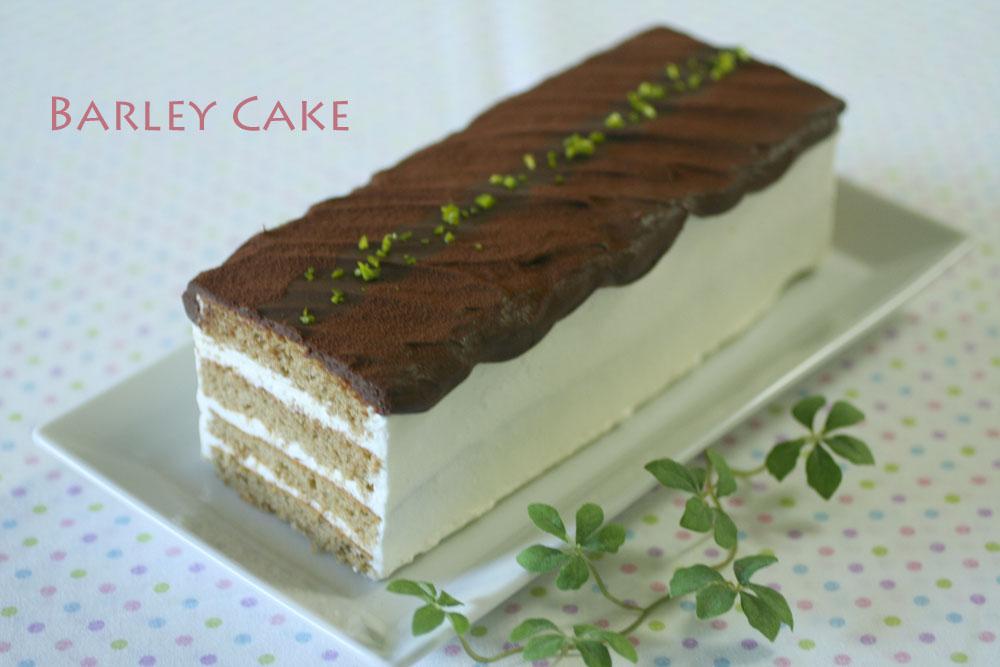 大麦ケーキ
