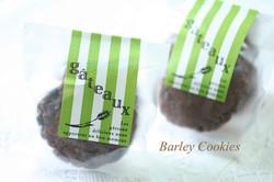 大麦とチョコのクッキー
