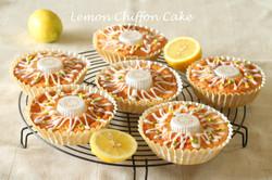 レモンと米粉のシフォン