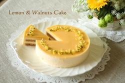 レモンと胡桃のケーキ