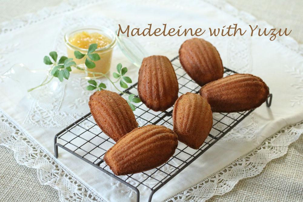柚子マドレーヌ